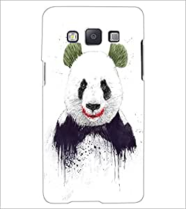 PrintDhaba Big Teddy D-1011 Back Case Cover for SAMSUNG GALAXY A5 (Multi-Coloured)