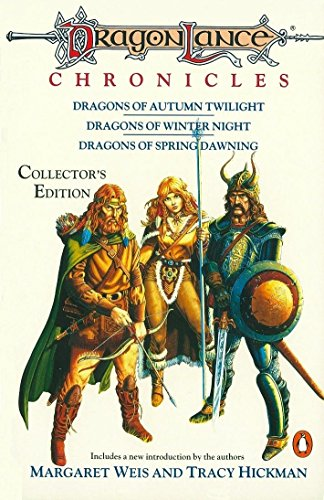 Dragonlance Chronicles: Dragons of Autumn Twilight, Dragons of Winter Night, Dragons of Spring Dawnin (TSR Fantasy)