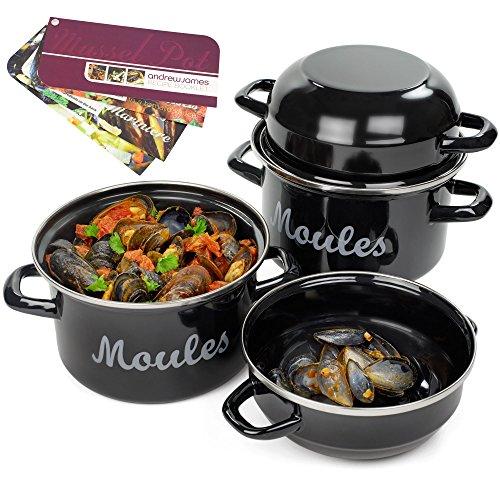 andrew-james-set-de-2x-marmites-a-moules-pots-casseroles-a-moules-avec-des-fiches-de-recette-lamines