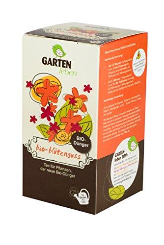 Bio Blütendünger, Tee für Pflanzen - Pflanze Tee