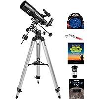 Kit de telescopio refractor ecuatorial Orion Observer 80ST
