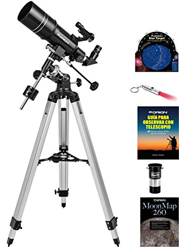 Kit telescopio refractor ecuatorial Orion Observer
