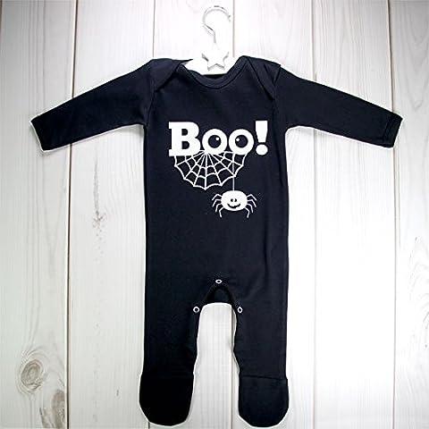 New Baby Halloween BOO! Romper Suit Baby Grow Costume