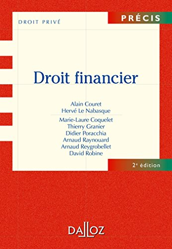 Droit financier - 2e d.: Prcis