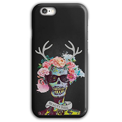 Blume Zucker Schädel Zombie Seele Kostüm iPhone 6 Plus / 6S Plus Hülle | Wellcoda