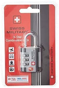 Swiss Military Silver Luggage Lock (LL-1)