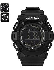 Sunroad Digital Sports Watch FR861 B Compass Altimeter Barometer Pedometer