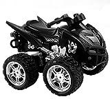 FDS Goplus 4D ATV RC Motorrad Ferngesteuertes Motorrad Racing Bike Kinder Spielzeug Fernbedienung Motorcycle Rennmaschine (Schwarz)