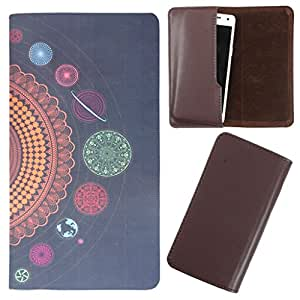 DooDa - For Micromax Ninja A91 PU Leather Designer Fashionable Fancy Case Cover Pouch With Smooth Inner Velvet