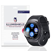 iLLumiShield - Samsung Gear S2 52mm Screen Protector Japanese Ultra Clear HD Film w/ Anti-Bubble & Anti-Fingerprint - High Quality Invisible Shield - Lifetime Warranty - [3-Pack] {4G, AT&T, T-Mobile}