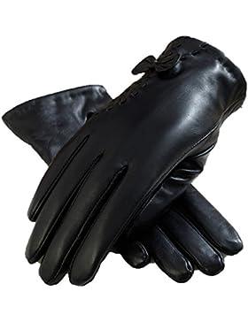 LYJBIK Guantes De Invierno Cálido Invierno Gruesa Pantalla Táctil De La Moda De Invierno Sección Delgada