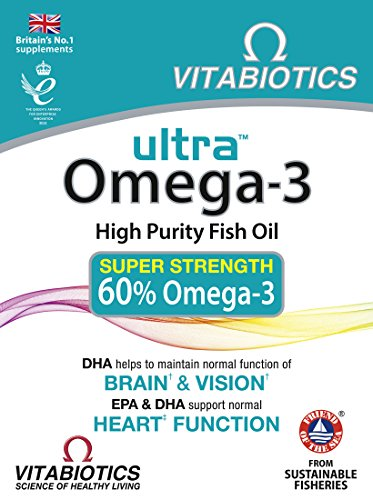 ULTRA Omega-3 High Potency 60 Capsules, 590 g -