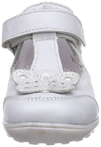 Richter Kinderschuhe Mini 0010-521 Baby Mädchen Krabbelschuhe Mehrfarbig (panna/silver/white   0401)