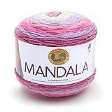 Lion Brand Yarn Company Mandala Yarn, Acrylic, Wood Nymph, 13.97 x 13.97 x 10.16 cm
