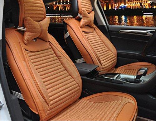Preisvergleich Produktbild AMYMGLL General Motors Kissenbezug Leinen Deluxe Edition (8set) Allgemein Autokissenbezug Four Seasons Universal-3 Farben Optionen , 1