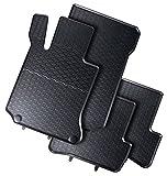 AME - Auto-Gummimatten in schwarz und Wabendesign, Geruch-vermindert und passgenau mit verbauten Befestigungen 860/4C