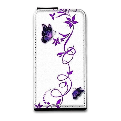 Flip Style Vertikal Handy Tasche Case Schutz Hülle Schale Motiv Foto Etui für Apple iPhone 5 / 5S - Flip V24 Design6 Design 12