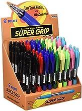 Pilot Supergrip - Expositor de bolígrafos, 60 unidades