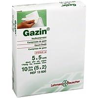 GAZIN Mullkomp.5x5 cm steril 8fach 5X2 St preisvergleich bei billige-tabletten.eu