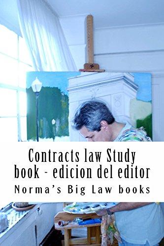 Contracts law Study book - edicion del editor: Look Inside! Contracts law study (e-book)