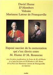 Expose Succinct de la Contestation Qui S'Est Elevee Entre M.Hume & M.Rousseau