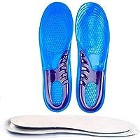 Silikon-Sport-Einlegesohlen für Stoßdämpfung, Fersenschutz und Fußgewölbeunterstützung, lindert Fußschmerzen und... preisvergleich bei billige-tabletten.eu