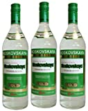 Vodka Moskowskaja (3 X 1L) 40%Vol Original Russischer Premium Wodka