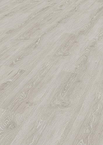 Tepcor Klick Vinylboden Premium Vinylbodenbelag mit Klicksystem Pflegeleichte und wasserfeste Vinyl Bodenbeläge in vielen verschiedenen Farben (Toledo silver)