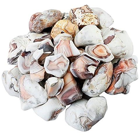 Shanxing naturelle pierres brutes cristaux pour Cabbing, essorage, polissage et Reiki Cristal Guérison (0,5kilogram, environ 460gram)