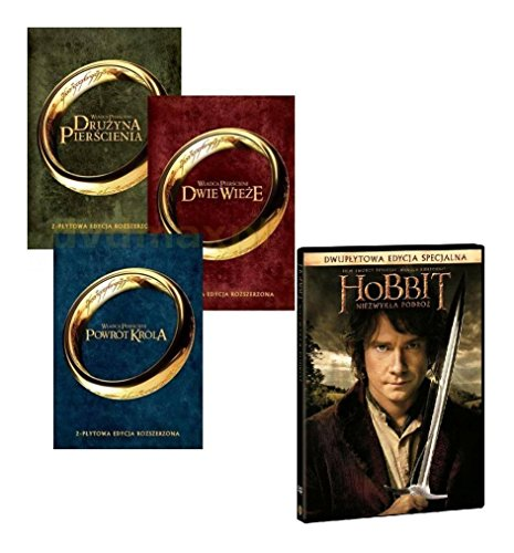 Lord of The Rings Trilogy, The / Hobbit: The Unexpected Journey [8DVD] [Region 2] (IMPORT) (Keine deutsche Version)