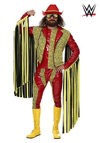Plus Size Macho Man Randy Savage Fancy dress costume ()