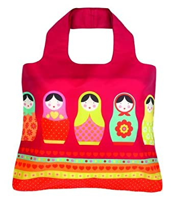 Envirosax Babushka Russian Dolls design Eco Reusable Kids Bag
