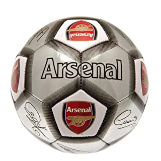 Arsenal F.C. Signature Ball - Special Edition - Silver