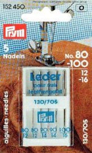 PRYM Nähmaschinennadeln 130/705 Leder sortiert Nr. 80-100 152450