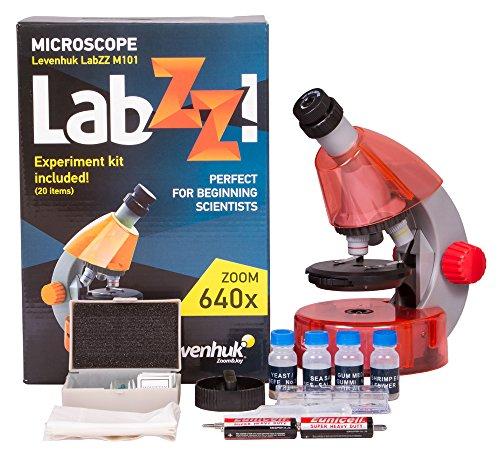 Levenhuk LabZZ M101 Mikroskop Orange\Orange
