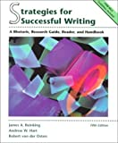 Strategies for Successful Writing: A Rhetoric, Research Guide, Reader, and Handbook by James A. Reinking (1998-08-04)