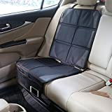 YFXOHAR PVC Leather Car Seat Cover Baby Child Safety Seat Anti-friction Pad Auto Seat Protector Mat Protection For Car Seats
