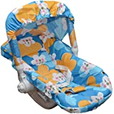 Tender Care 5 in 1 Baby Cozy Carry Cot Cum Roker (Blue)