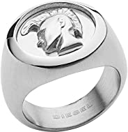 Diesel Men's Silver Ring, DX121