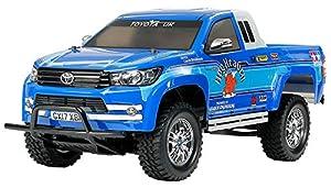 Tamiya 58663 58663-1:10 RC Toyota Hilux Extra Cab CC-01 - Maqueta de Coche teledirigido (sin lacar)
