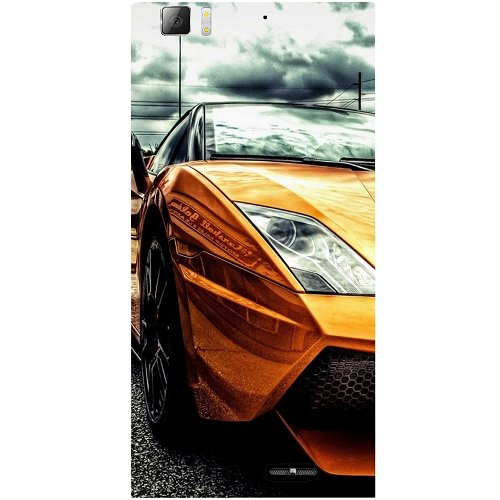 Casotec Street Lamborghini Design Hard Back Case Cover for Lenovo K900  available at amazon for Rs.149