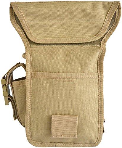 Hüfttasche, Hip Bag, Security, Bein- und Gürtelbefestigung Coyote