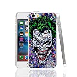 Ch le Joker Jared Leto Suicide Squad iPhone 5 Coque Super-vilain Superhero Fantasy Science Fiction film 5S 5 SE Harley Quinn Margot Robbie DVD Movie Bande dessinée Super Hero Batman, plastique rigide