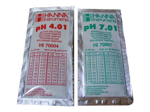 2-x-hanna-medidor-de-ph-buffer-solucion-de-calibracion-bolsas-401ph-y-701-ph-hi-70007-y-hi-70004