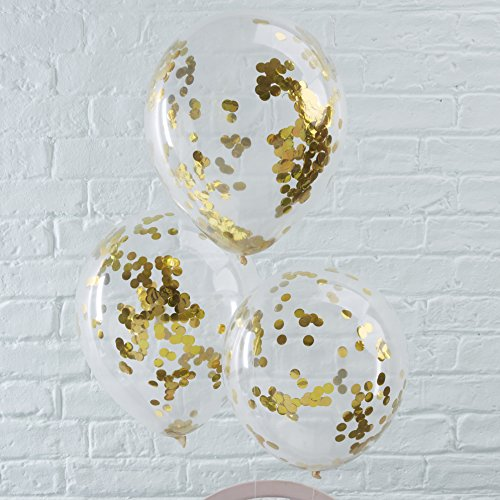 ginger-ray-gold-confetti-filled-clear-party-balloons-x-5-party-decorations-pick-and-mix