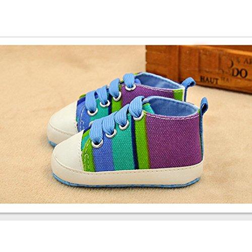 Colorido Sapatos Azuis De Macias Meses 0 Bebê Sapatos Switchali Para Lona De Bebê Únicos De 18 1PxwtPr