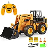 CR Car AP RC Bulldozer 6 Kanal 2.4G Emulational Truck Loader Big Bagger Fernbedienung Spielzeug Loader Rad Geburtstagsgeschenk Neujahrs Geschenk