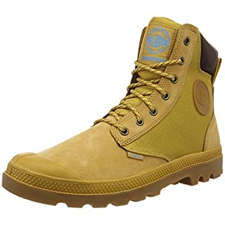 Palladium Unisex-Erwachsene Pampa Sport Cuff Wpn Combat Boots, Gold (228), 42 EU