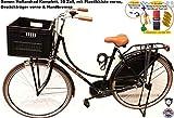 Damen Hollandrad Highlander 28 Zoll schwarz Komplett