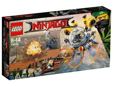 Preisvergleich Produktbild Lego The NINJAGO Movie 70610 Turbo-Qualle - SOFORT LIEFERBAR
